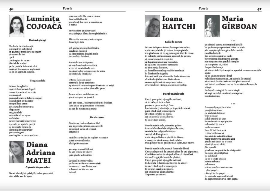 Caiete Silvane 144-ianuarie 2017 - Poeme pentru Caiete Silvane - Ioana Haitchi pag 41
